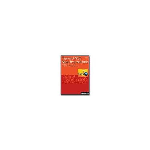 - Transact-SQL Sprachverzeichnis - Preis vom 10.05.2021 04:48:42 h