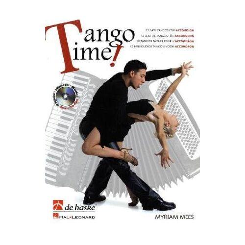 Myriam Mees - Tango Time!, für Akkordeon, m. Audio-CD - Preis vom 17.10.2019 05:09:48 h