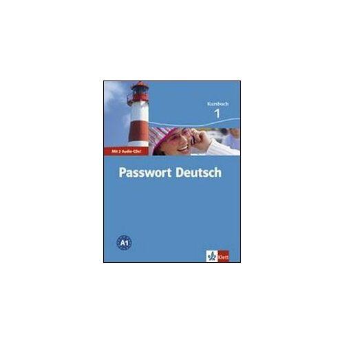 PASSWORT - Passwort Deutsch. Kursbuch 1 inkl. 2 Audio-CDs (Passwort Deutsch - Edición en 3 Volúmenes) - Preis vom 18.04.2021 04:52:10 h