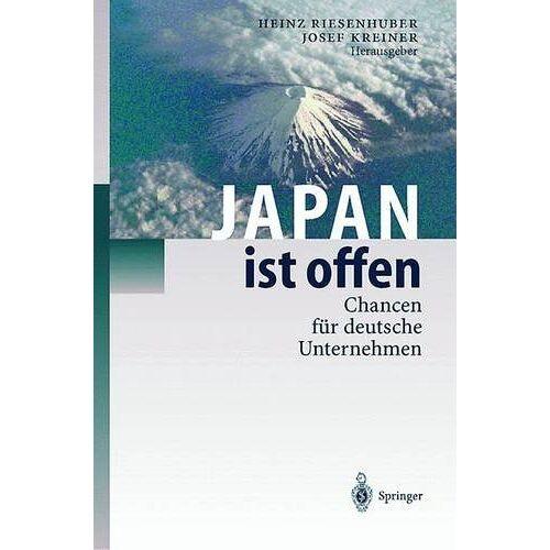 Heinz Riesenhuber - Japan ist offen: Chancen für deutsche Unternehmen - Preis vom 05.05.2021 04:54:13 h