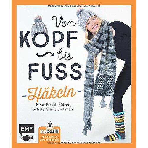 Thomas Jaenisch - MyBoshi. Von Kopf bis Fuß - häkeln: Neue Boshis, Schals, Socken und mehr - Preis vom 13.01.2021 05:57:33 h