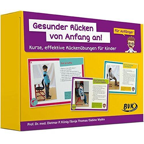 Dietmar Pierre König - Gesunder Rücken von Anfang an! - Anfänger: Kurze, effektive Rückenübungen für Kinder - Preis vom 18.10.2020 04:52:00 h