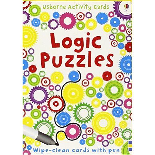 Sarah Khan - Logic Puzzles: Puzzle Cards (Usborne Puzzle Cards) - Preis vom 15.08.2019 05:57:41 h