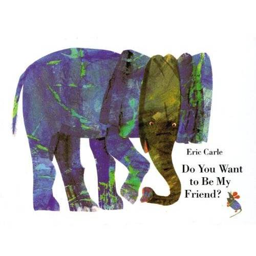 Eric Carle - Do You Want to Be My Friend? miniature book: miniature edition - Preis vom 24.06.2020 04:58:28 h
