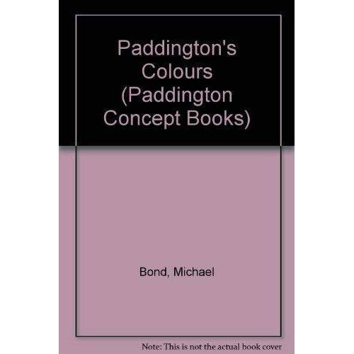 Michael Bond - Paddington's Colours (Paddington Concept Books) - Preis vom 26.03.2020 05:53:05 h
