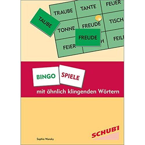 Sophia Wansky - Bingospiele mit ähnlich klingenden Wörtern - Preis vom 31.03.2020 04:56:10 h