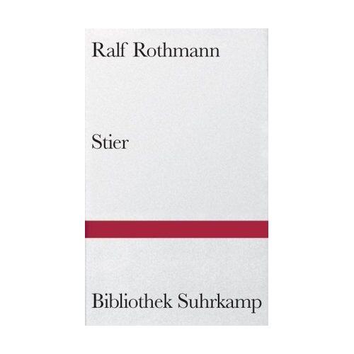 Ralf Rothmann - Stier - Preis vom 15.05.2021 04:43:31 h