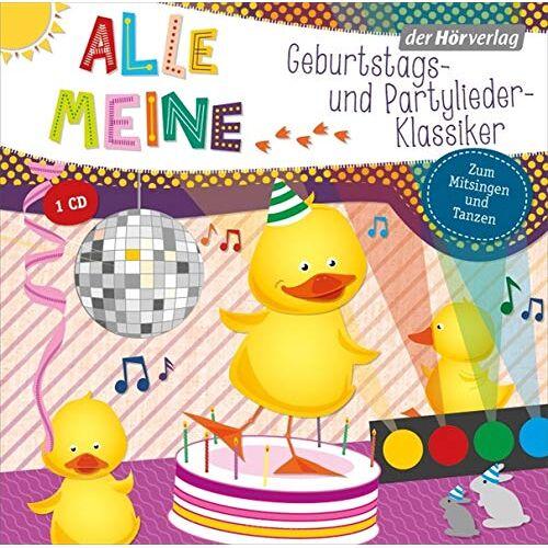 - Alle meine Geburtstags- und Partylieder-Klassiker (Alle meine ...-Reihe, Band 8) - Preis vom 21.10.2020 04:49:09 h
