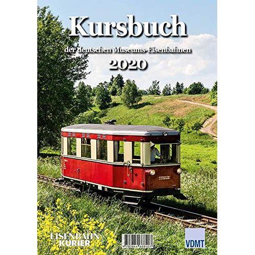 - Kursbuch der deutschen Museums-Eisenbahnen 2020 - Preis vom 21.01.2021 06:07:38 h