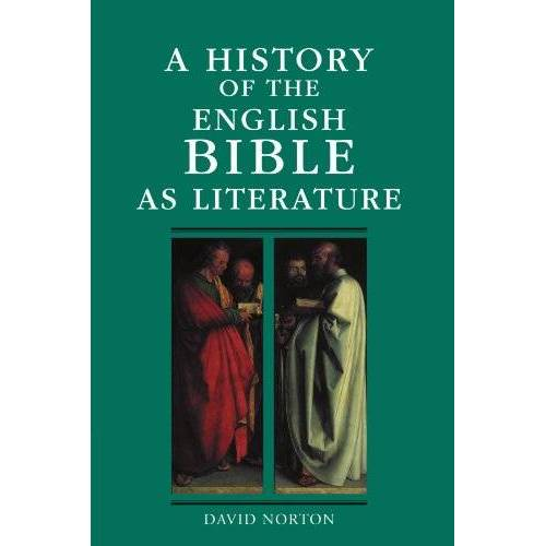 David Norton - A History of the English Bible as Literature (A History of the Bible as Literature) - Preis vom 14.04.2021 04:53:30 h