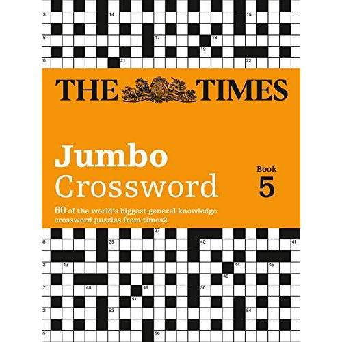 Times Uk - Times 2 Jumbo Crossword Book 5: 60 Large General-Knowledge Crossword Puzzles (The Times Crosswords) - Preis vom 05.05.2021 04:54:13 h