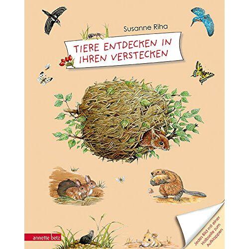 Susanne Riha - Tiere entdecken in ihren Verstecken - Preis vom 22.04.2021 04:50:21 h