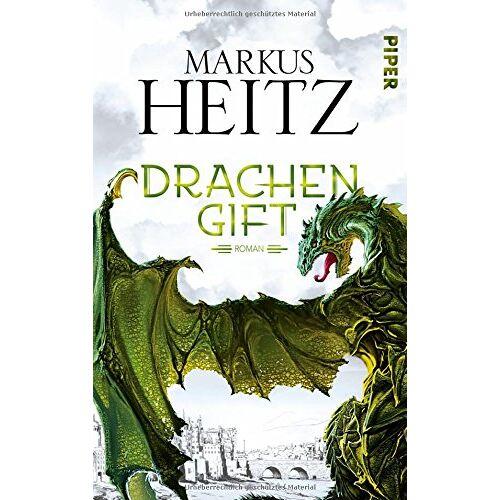 Markus Heitz - Drachengift: Roman (Drachen (Heitz), Band 3) - Preis vom 20.10.2020 04:55:35 h