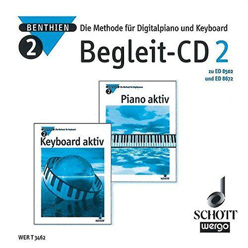 Axel Benthien - Piano aktiv / Keyboard aktiv: Die Methode für Digitalpiano und Keyboard. Begleit-CD 2. CD. - Preis vom 27.02.2021 06:04:24 h