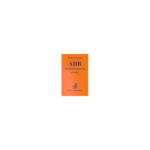 Sigurd Littbarski - Allgemeine Versicherungbedingungen für die Haftpflichtversicherung ( AHB) - Preis vom 05.05.2021 04:54:13 h