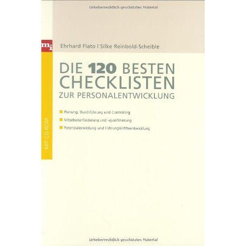 Ehrhard Flato - Die 120 besten Checklisten zur Personalentwicklung (Checklisten und Handbücher) - Preis vom 09.04.2020 04:56:59 h