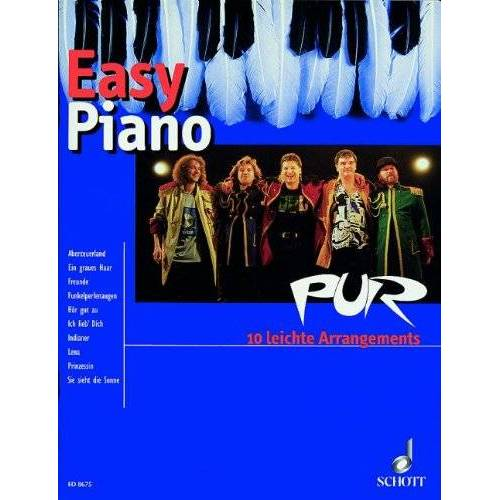 Hans Lüdemann - PUR: 10 leichte Arrangements. Klavier. (Piano light) - Preis vom 18.11.2019 05:56:55 h