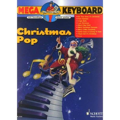- Christmas Pop: Keyboard. (Mega Keyboard) - Preis vom 27.02.2021 06:04:24 h