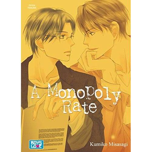 Kumiko Misasagi - A Monopoly Rate - Livre (Manga) - Yaoi - Preis vom 16.04.2021 04:54:32 h