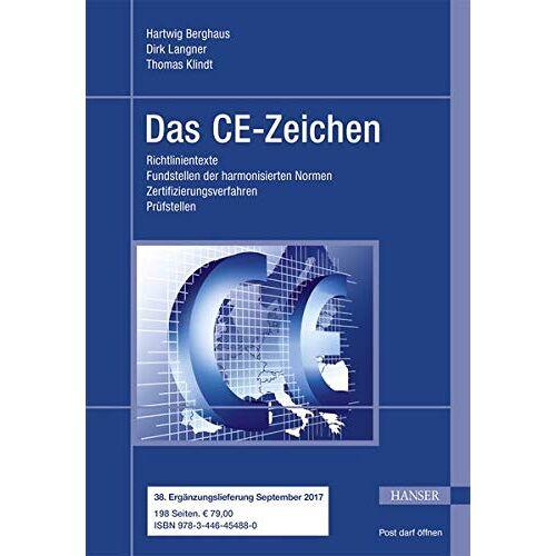 Hartwig Berghaus - Das CE-Zeichen - Preis vom 05.05.2021 04:54:13 h