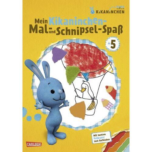 Corinna Fuchs - KiKANiNCHEN: Mein Kikaninchen-Mal- und Schnipsel-Spaß - Preis vom 17.01.2021 06:05:38 h