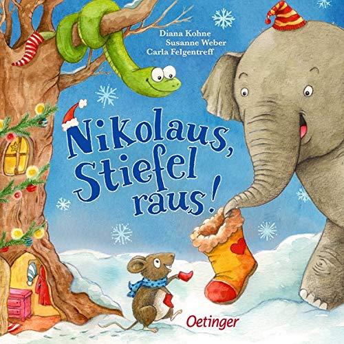 Susanne Weber - Nikolaus, Stiefel raus! - Preis vom 11.04.2021 04:47:53 h