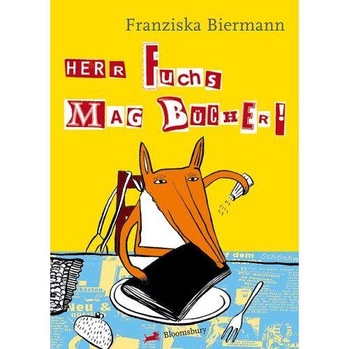 Franziska Biermann - Herr Fuchs mag Bücher - Preis vom 28.02.2021 06:03:40 h