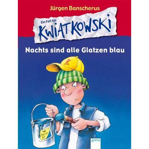 Jürgen Banscherus - Ein Fall für KWIATKOWSKI. Nachts sind alle Glatzen blau - Preis vom 13.05.2021 04:51:36 h
