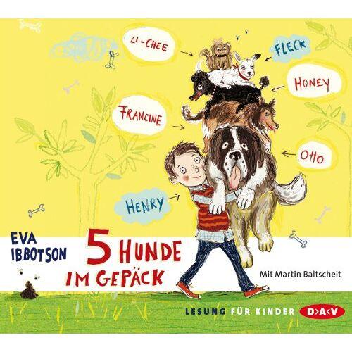 Eva Ibbotson - 5 Hunde im Gepäck - Preis vom 23.01.2020 06:02:57 h