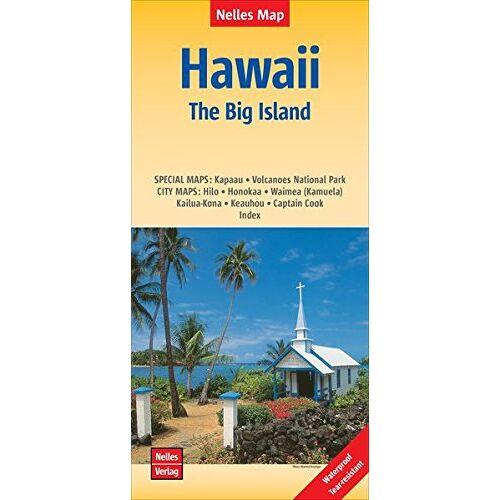 Nelles Verlag - Hawaii: The Big Island   Hawaii: Grande Île   Hawái: La Gran Isla: 1:330.000   reiß- und wasserfest; indéchirable et imperméable; irrompible & impermeable (Nelles Map) - Preis vom 23.02.2021 06:05:19 h