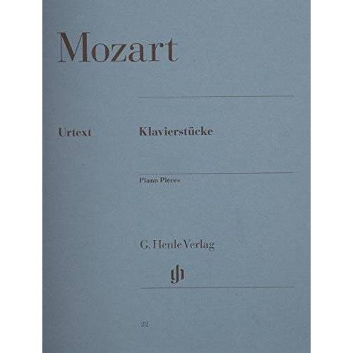 Mozart, Wolfgang Amadeus - Klavierstücke. Klavier - Preis vom 20.10.2020 04:55:35 h