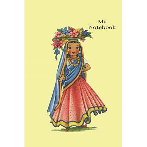 Cascadia Books - Notebook: Vintage  traditional Costume Dolls of The World Notebook - Preis vom 05.09.2020 04:49:05 h