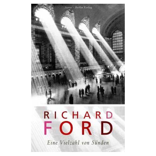 Richard Ford - Eine Vielzahl von Sünden - Preis vom 24.01.2020 06:02:04 h