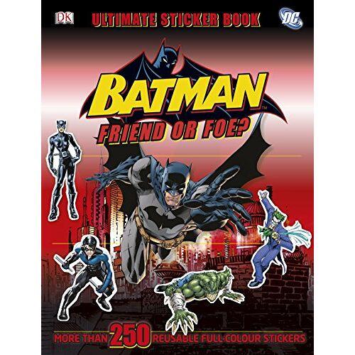 DK - Batman Friend or Foe? Ultimate Sticker Book (Ultimate Stickers) - Preis vom 05.09.2020 04:49:05 h