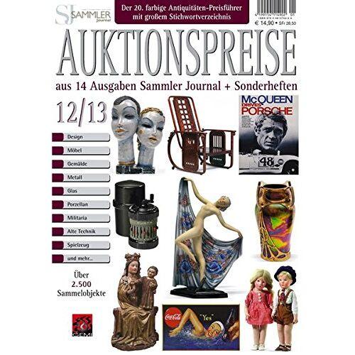 Gerd Reddersen - Auktionspreiskatalog 12/13: Auktionspreise aus 14 Ausgaben Sammler Journal und Sonderheften - Preis vom 13.05.2021 04:51:36 h