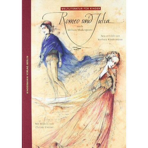Barbara Kindermann - Romeo und Julia nach W. Shakespeare, neu erzählt von Barbara Kindermann. - Preis vom 04.05.2021 04:55:49 h