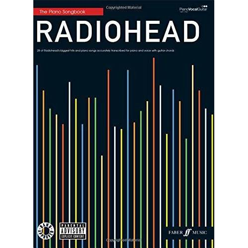 Radiohead - Radiohead Piano Songbook: (Piano, Vocal, Guitar) - Preis vom 18.04.2021 04:52:10 h