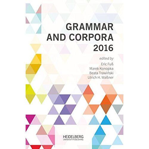 Beata Trawiński - Grammar and Corpora 2016 - Preis vom 20.10.2020 04:55:35 h