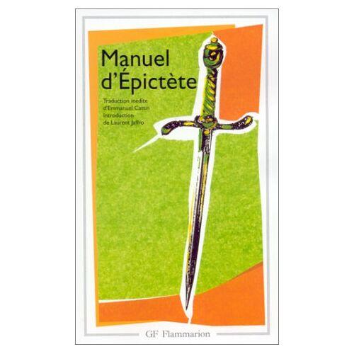 Epictète - Manuel d'Epictète - Preis vom 21.10.2020 04:49:09 h