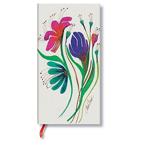- Laurel Burch Anemonen - Notizbuch Schlank Liniert - Paperblanks - Preis vom 17.04.2021 04:51:59 h