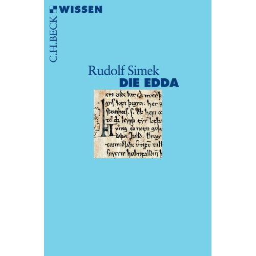 Rudolf Simek - Die Edda: Germanische Götter- und Heldenlieder - Preis vom 23.01.2020 06:02:57 h