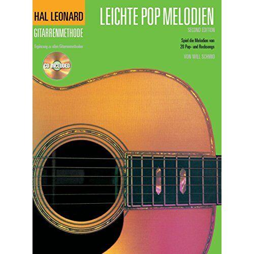 Hal Leonard - Hal Leonard Gitarrenmethode: Leichte Pop Melodien 2. Ergänzung zu allen Gitarrenmethoden. Spiel die Melodien von 20 Pop- und Rocksongs. CD Included - Preis vom 26.02.2021 06:01:53 h