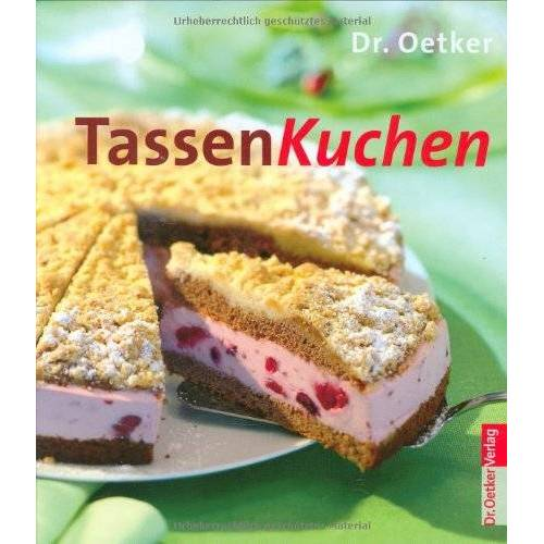 Dr. Oetker - Tassenkuchen - Preis vom 09.04.2021 04:50:04 h