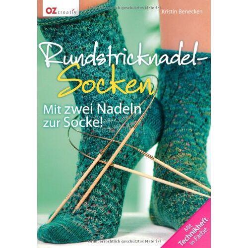 Kristin Benecken - Rundstricknadel-Socken: Mit zwei Nadeln zur Socke! - Preis vom 06.09.2020 04:54:28 h