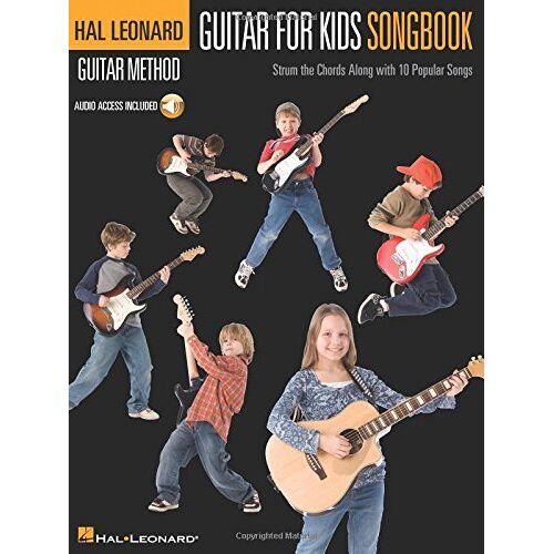 Various - Hal Leonard Guitar Method: Guitar For Kids Songbook: Songbook, CD für Gitarre - Preis vom 21.10.2020 04:49:09 h