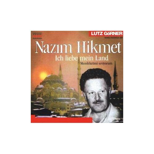 Nazim Hikmet - Nazim Hikmet, Ich liebe mein Land, Memleketimi seviyorum. 1 Audio-CD - Preis vom 20.10.2020 04:55:35 h