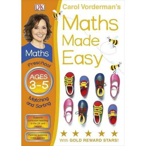 Carol Vorderman - Maths Made Easy Matching And Sorting Preschool Ages 3-5 (Carol Vorderman's Maths Made Easy) - Preis vom 20.10.2020 04:55:35 h