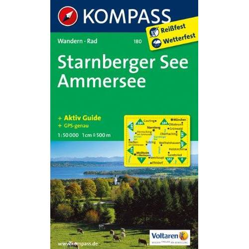 - Starnberger See, Ammersee 1 : 50 000: Wandern / Rad - Preis vom 21.10.2020 04:49:09 h