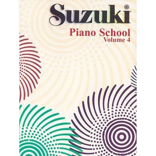 Suzuki, Dr. Shinichi - Suzuki Piano School Piano Book, Volume 4 (Suzuki Method Core Materials) - Preis vom 08.05.2021 04:52:27 h