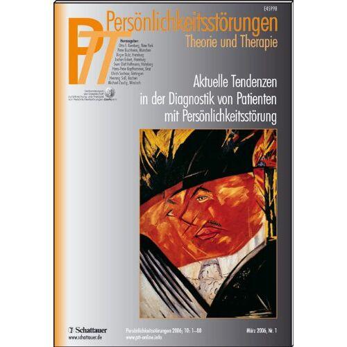 Kernberg, Otto F. - Persönlichkeitsstörungen PTT: Aktuelle Tendenzen in der Diagnostik von Patienten mit Persönlichkeitsstörung. Theorie und Therapie: 37 - Preis vom 25.10.2020 05:48:23 h